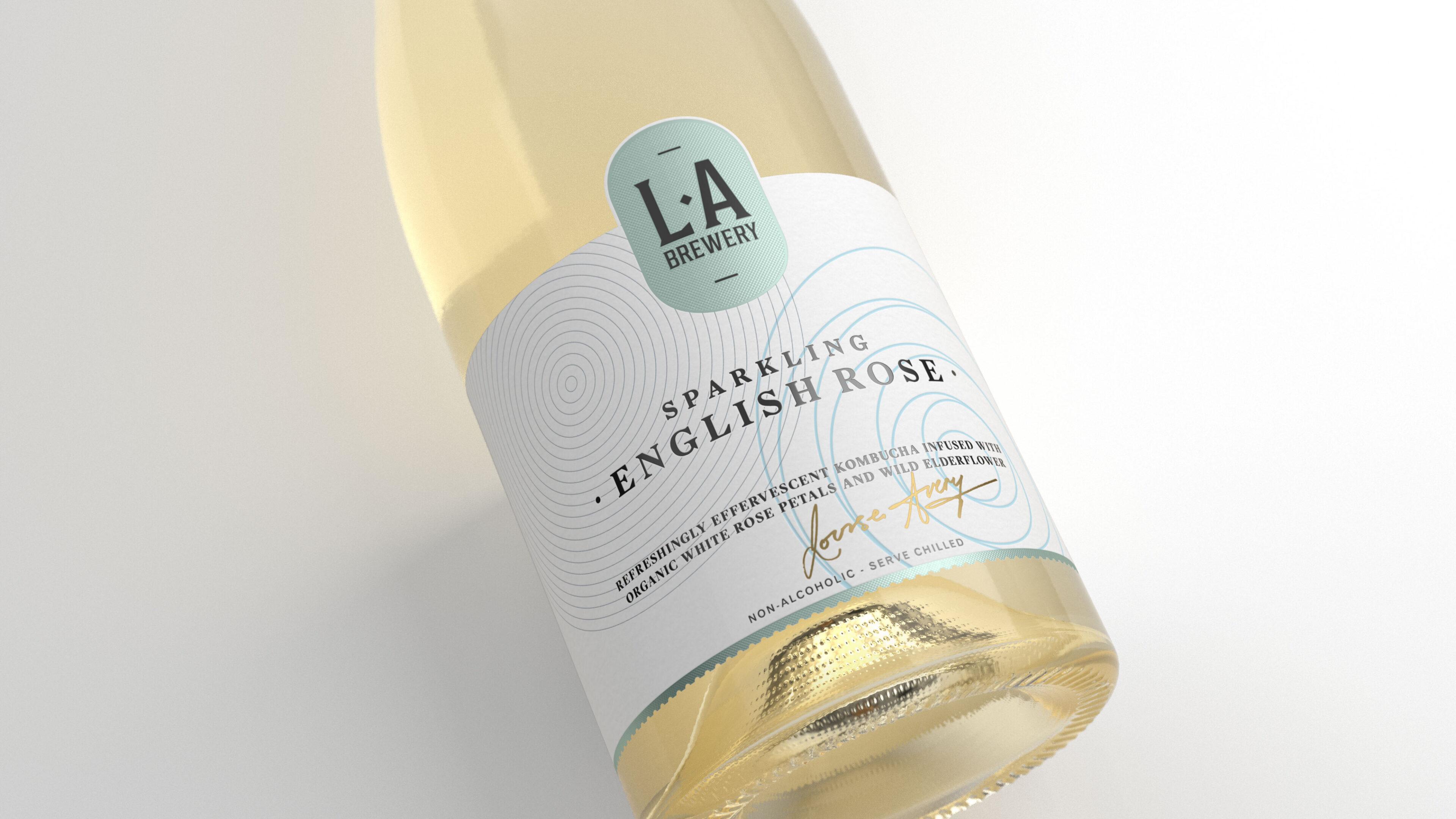 LA Champagne LYING Front White