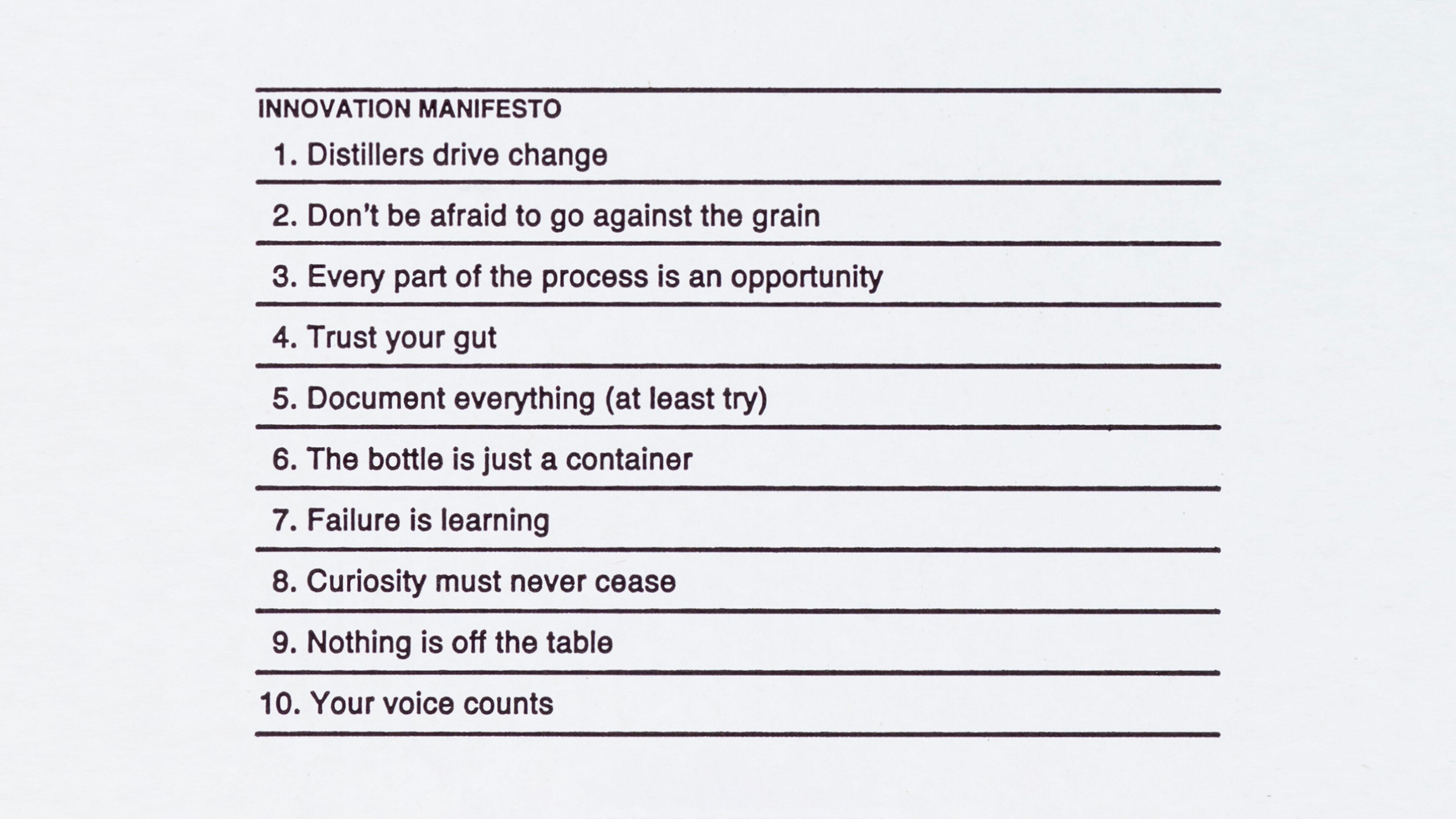 Kininvie manifesto