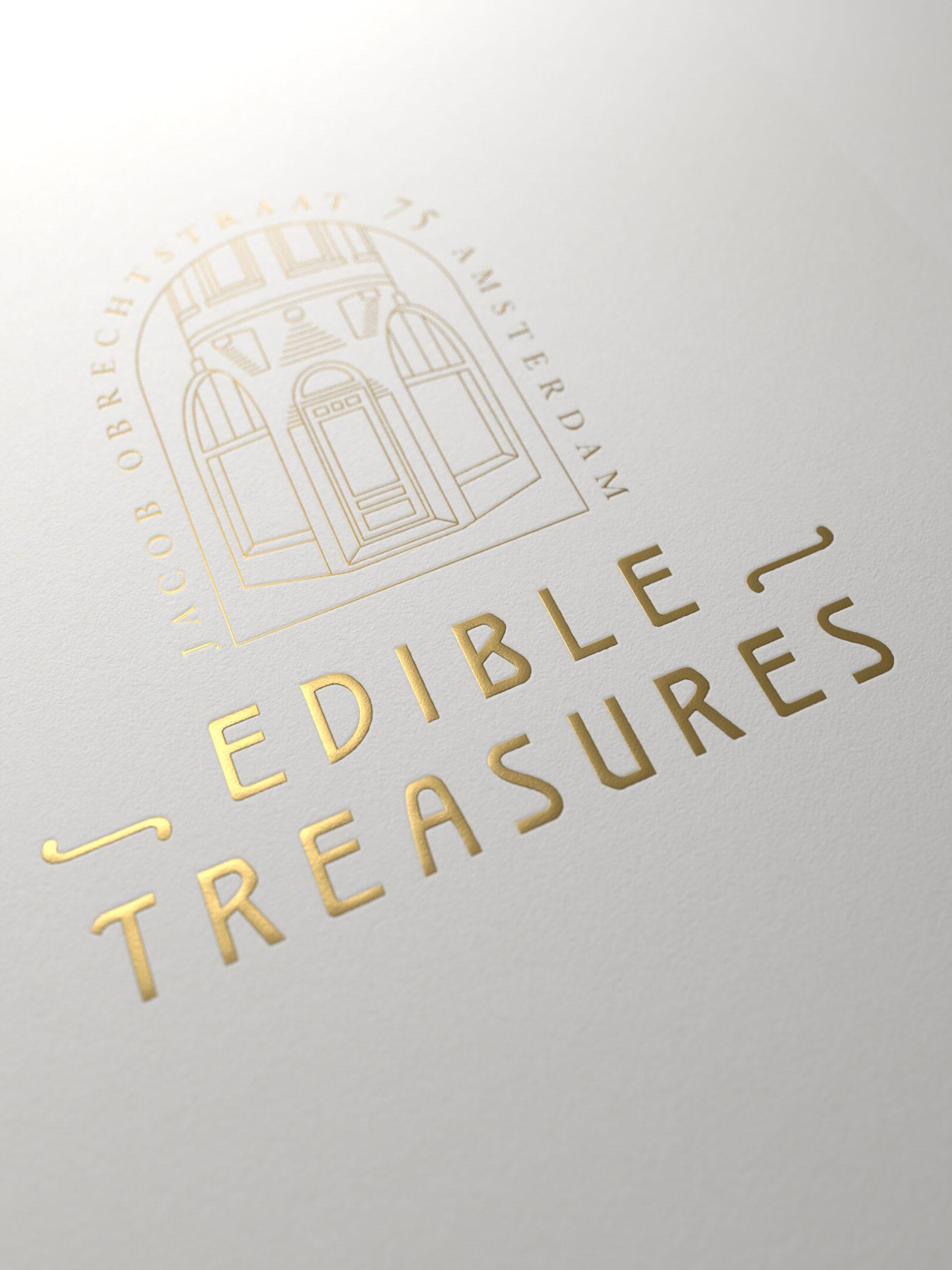 Edible treasures logo