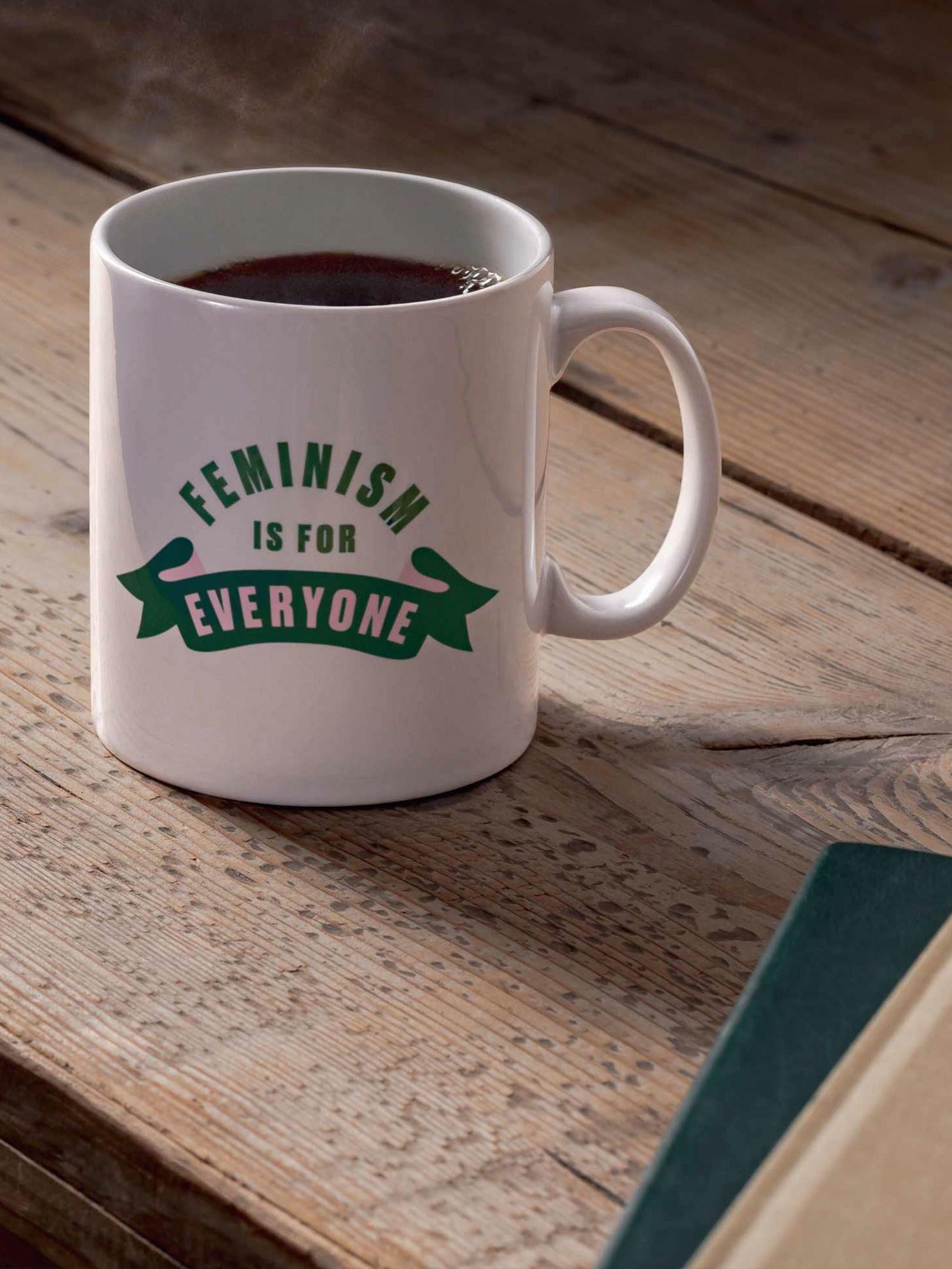 HERE British Library mug design